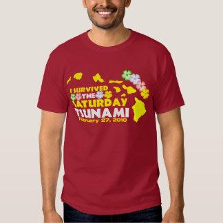 Saturday Tsunami Survivor T-shirt