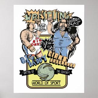 Saturday Wrestling Poster
