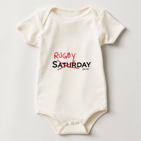 Saturday X Rugbyday Baby Bodysuit