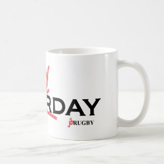 Saturday X Rugbyday Coffee Mug