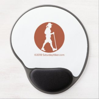 SaturdayHiker.com Gel Mouse Pad