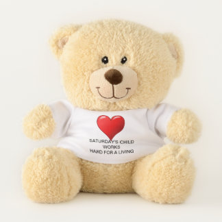 Saturday's Child Teddy Bear