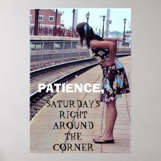 SATURDAY'S COMING poster