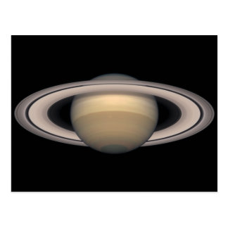Saturn 1999 Postcard Science and Astronomy gift
