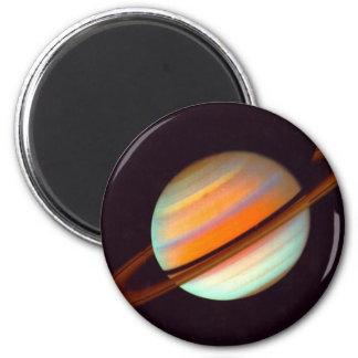 SATURN 2 INCH ROUND MAGNET