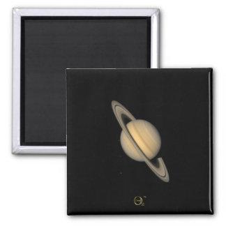 Saturn 2 Inch Square Magnet