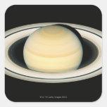 Saturn 2 square sticker