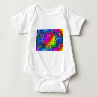 saturn-341379 FANTASY SCIENCEFICTION STARSCAPES AL Baby Bodysuit