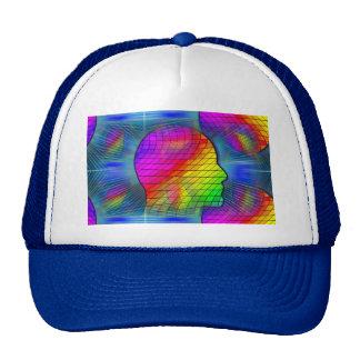 saturn-341379 FANTASY SCIENCEFICTION STARSCAPES AL Mesh Hats