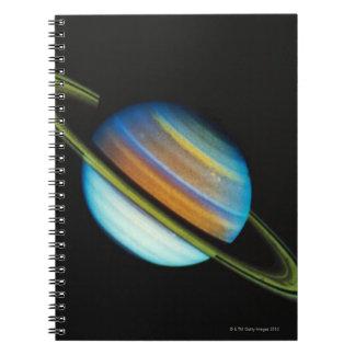 Saturn 4 spiral notebook