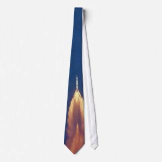 Saturn 5 Launch Neck Tie