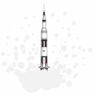 Saturn 5 statuette