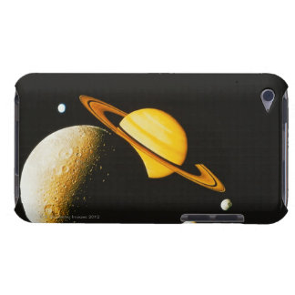Saturn and Her Moons Barely There iPod Case