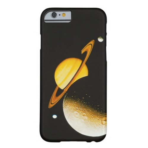 Saturn and Her Moons Phone Case