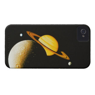 Saturn and Her Moons iPhone 4 Cover