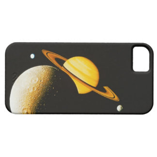 Saturn and Her Moons iPhone SE/5/5s Case