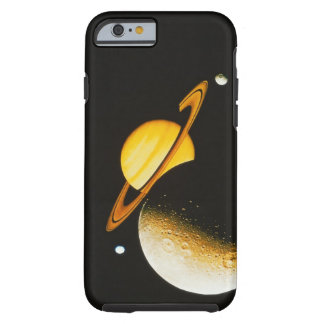 Saturn and Her Moons Tough iPhone 6 Case