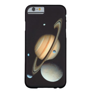 Saturn and satellites barely there iPhone 6 case