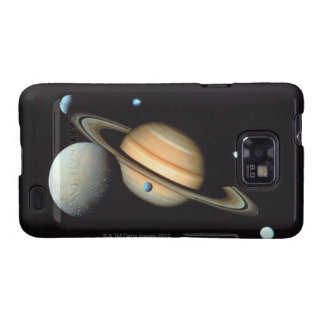 Saturn and satellites samsung galaxy SII covers
