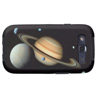 Saturn and satellites samsung galaxy SIII cover