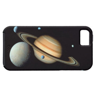 Saturn and satellites iPhone SE/5/5s case