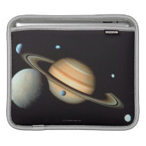 Saturn and satellites sleeve for iPads