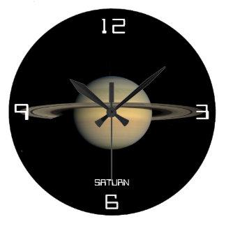 Saturn Astronomical Wall Clock
