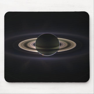 Saturn backlit mouse pad