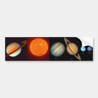SATURN BUMPER STICKER