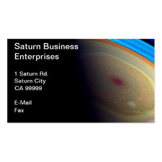saturn business card template