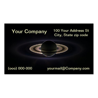 Saturn Business Card