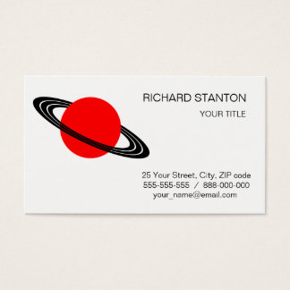 Saturn Business Card