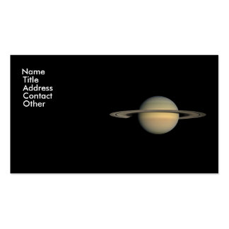 Saturn Double-Sided Standard Business Cards (Pack Of 100)