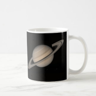 Saturn by Voyager 2 Classic White Coffee Mug