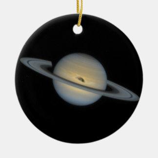 Saturn Ceramic Ornament