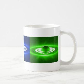 Saturn Combo Classic White Coffee Mug