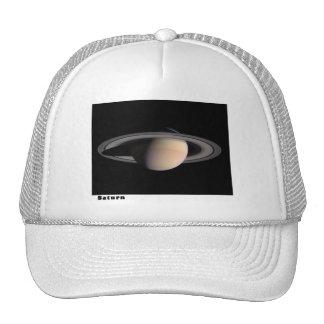 Saturn con los anillos gorras de camionero