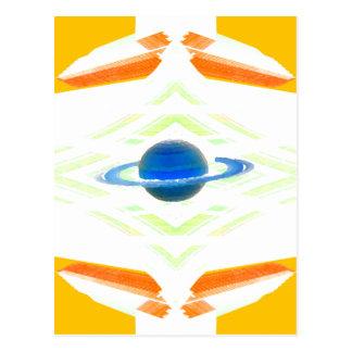 Saturn CricketDiane Postcard