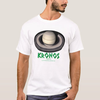 Saturn - Cronus - Kronos - Gods of Old T-Shirt