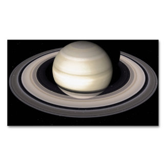 SATURN d.jpg Magnetic Business Cards (Pack Of 25)