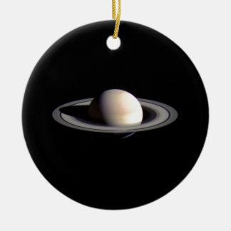 Saturn Adorno Redondo De Cerámica