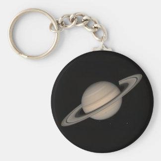 Saturn del viajero 2 llavero redondo tipo pin