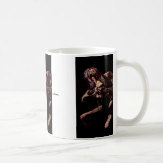 Saturn Devouring His Son From The Pinturas Negras Classic White Coffee Mug