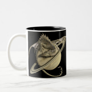 Saturn Dragon Coffee Mug