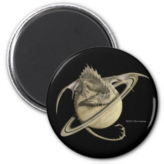 Saturn Dragon Magnet