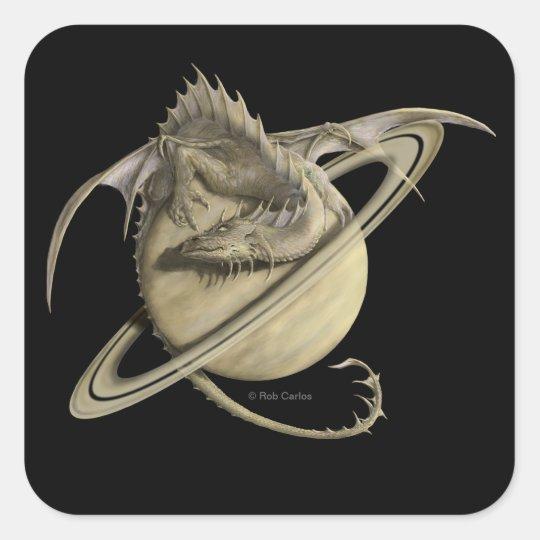 Saturn Dragon Sticker