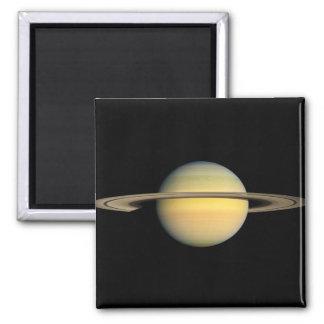 Saturn durante equinoccio imán cuadrado