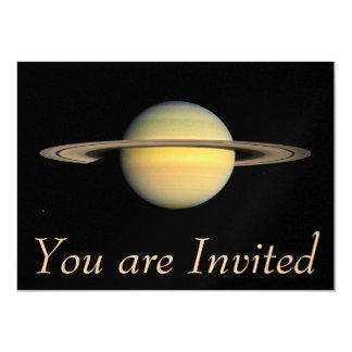 """Saturn durante equinoccio invitación 4.5"""" x 6.25"""""""