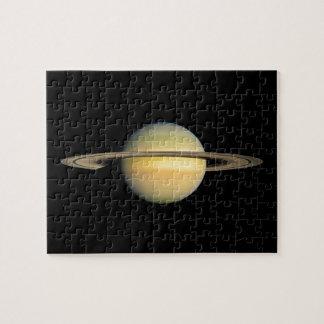 Saturn durante equinoccio puzzles