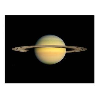 Saturn during Equinox Postcard